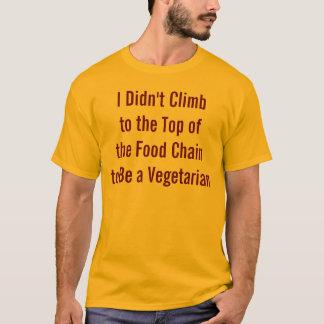 Camisa vegetariana anti divertida