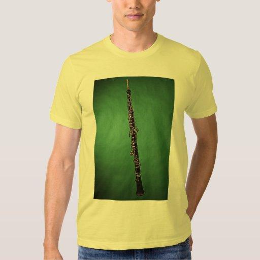 Camisa verde de la imagen del fondo de Oboe