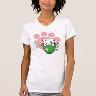 Camisa verde de las señoras del Equipo-Té (más