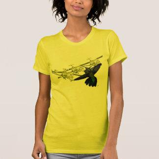 Camisa verde del colibrí