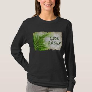 """Camisa """"verde"""" viva amistosa de los Arte-amantes"""