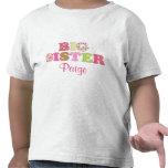 Camisa verde y rosada de encargo de la hermana