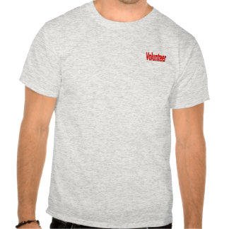 camisa voluntaria