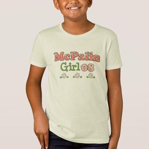 Camiseta 08 del niño del chica de McPalin orgánica Playeras