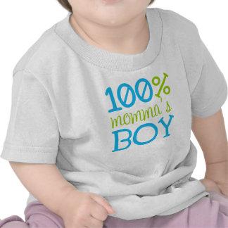 """Camiseta 100% del muchacho """"de Momma adorable"""""""