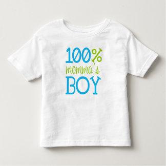 """Camiseta 100% del muchacho """"de Momma adorable"""" Remeras"""