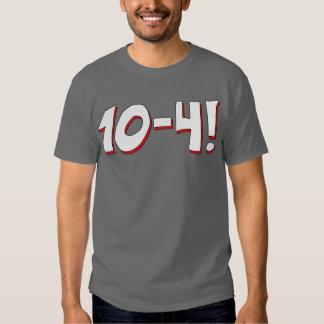 camiseta 10-4 playeras