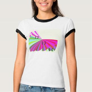 Camiseta 12/13/14 del campanero de las señoras playera