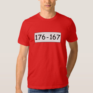 Camiseta 176-167 de los muchachos del beagle remera