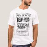 Camiseta 1910 del anuncio del drama del vintage de