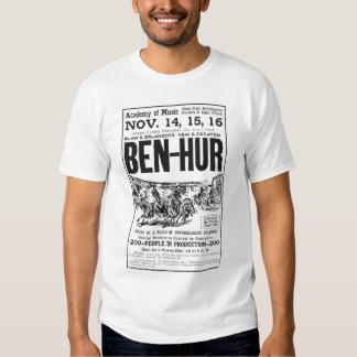 Camiseta 1910 del anuncio del drama del vintage de remeras