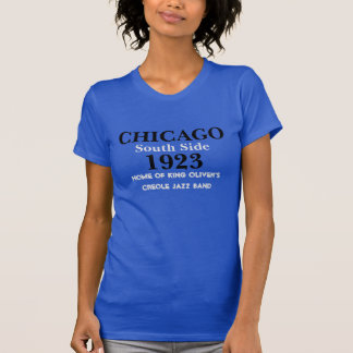 Camiseta 1923 de las señoras del jazz de CHICAGO Camisas