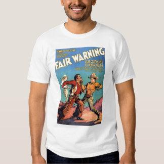 Camiseta 1931 del cartel de película del vintage polera