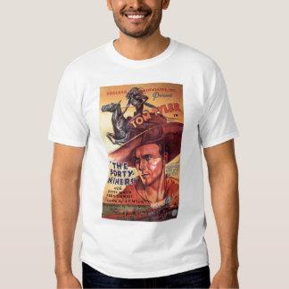 Camiseta 1932 del cartel de película del vintage d playeras