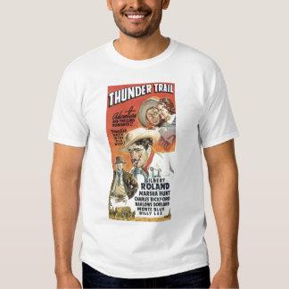 Camiseta 1937 del cartel de película del vintage playera