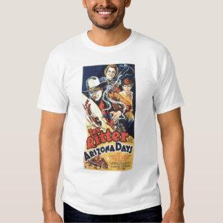 Camiseta 1937 del cartel de película del vintage poleras