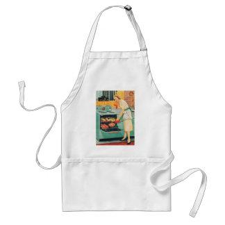 Camiseta 1956 del ama de casa de la estufa de Gene Delantal
