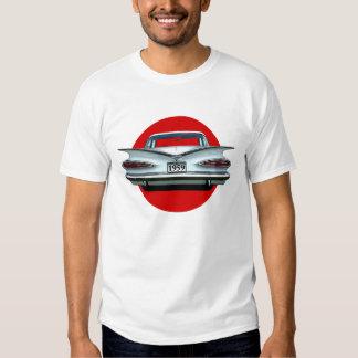 Camiseta 1959 del coche del Tailfin del impala de Poleras