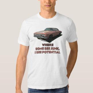Camiseta 1966 de Chevrolet Impala Camisas