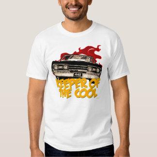 Camiseta 1967 del coche de Oldsmobile 442 Camisas