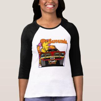Camiseta 1968 del coche del Barracuda de Plymouth Poleras