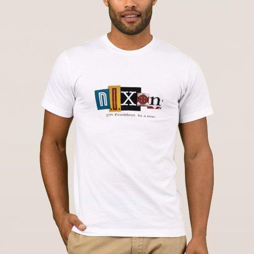 Camiseta 1969 de la campaña de Richard Nixon
