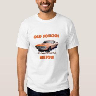 Camiseta 1970 de Plymouth Hemi-Cuda del músculo de Camisas
