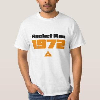 Camiseta 1972 del hombre de Rocket Remeras