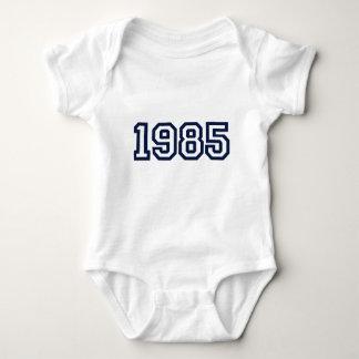 camiseta 1985 del año del nacimiento poleras