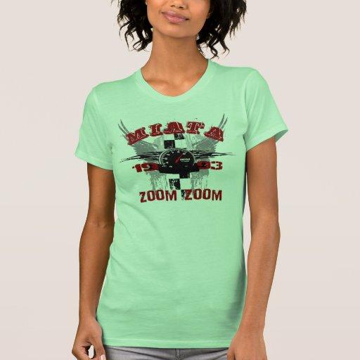 Camiseta 1993 del gráfico de Miata