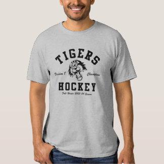 Camiseta 2003-2004 del campeonato del hockey de playera