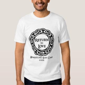 Camiseta 2006 del campo de Mendocino Sufi