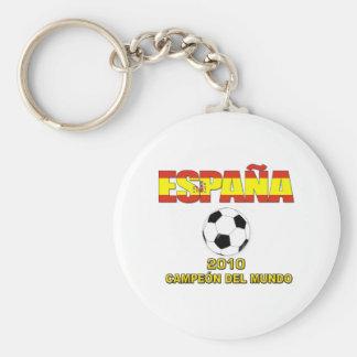 Camiseta 2010 de España Campeones del Mundo Llavero Redondo Tipo Pin