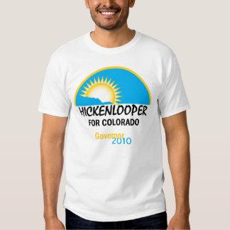 Camiseta 2010 de Hickenlooper Playeras