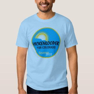 Camiseta 2010 de Hickenlooper Polera