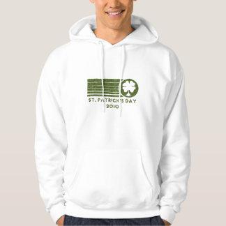 Camiseta 2010 del día de St Patrick Jersey Con Capucha