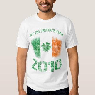 Camiseta 2010 del día de St Patrick Poleras