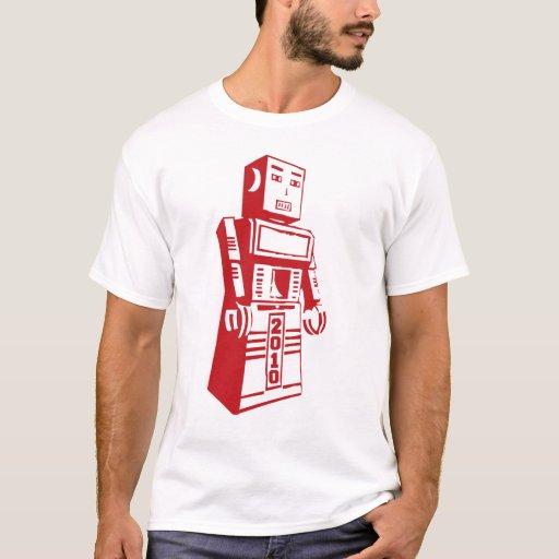 Camiseta 2010 del robot