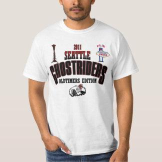 Camiseta 2011 de los Oldtimers de Ghostriders Playera