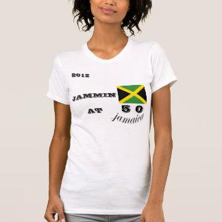 Camiseta 2012 de Jamaica Jammin 50 Camisas
