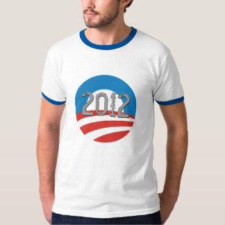 Camiseta 2012 de la campaña del logotipo de Obama