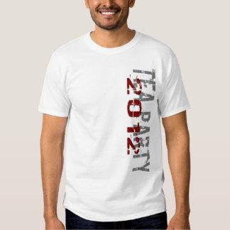 Camiseta 2012 de la fiesta del té playera
