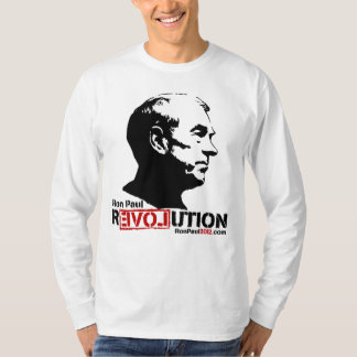 Camiseta 2012 de la revolución de Ron Paul Playera