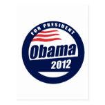Camiseta 2012 de Obama Postal