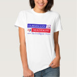 Camiseta 2012 de Olbermann Maddow Playeras