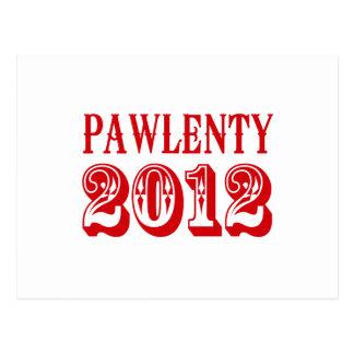 CAMISETA 2012 DE PAWLENTY POSTAL