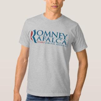 Camiseta 2012 de Romney Rafalca de los grises Poleras