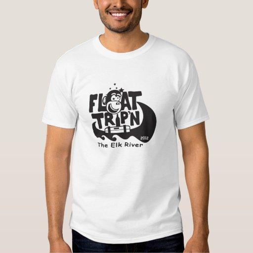 Camiseta 2012 de TripN del flotador Playeras