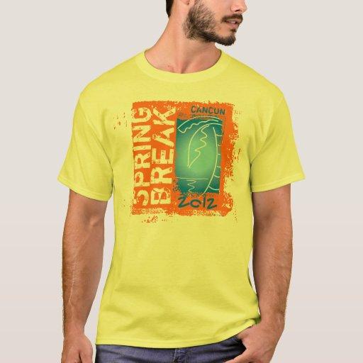 Camiseta 2012 del coco de Cancun de las vacaciones