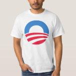 Camiseta 2012 del logotipo de Obama